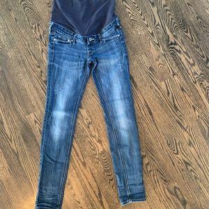 EUC H&M skinny maternity jeans